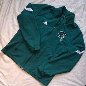 Adidas Michigan State Spartans Windbreaker